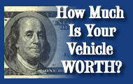 How Much id Your Vehicle Worth?